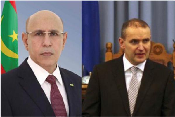 Le Président de la République félicite son homologue d'Islande