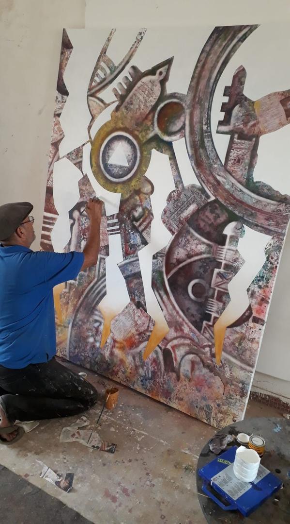 Notre Mokhis national, ce grand peintre discriminé…