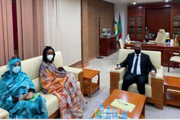 Le président de l'UNPM reçoit le représentant du FMI