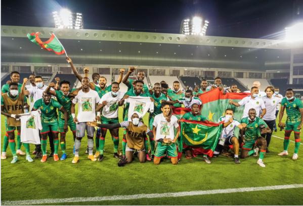 Coupe Arabe FIFA : la Mauritanie se qualifie et rejoint la Tunisie