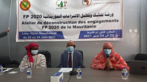 FP 2020, déconstruire les engagements de la Mauritanie