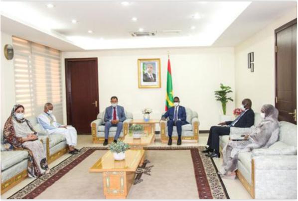 Le Premier ministre reçoit le président des Cités et des gouvernements locaux