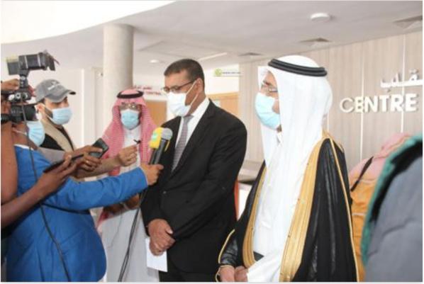 Une mission médicale saoudienne effectue des opérations chirurgicales au centre national de cardiologie