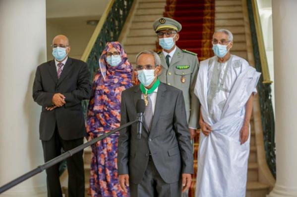 Fin de mission au Sénégal : les conseils de Cheikhna Ould Nenni sur le gaz et de terrorisme