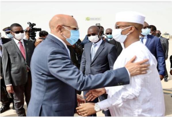 Arrivée à Nouakchott du Président tchadien