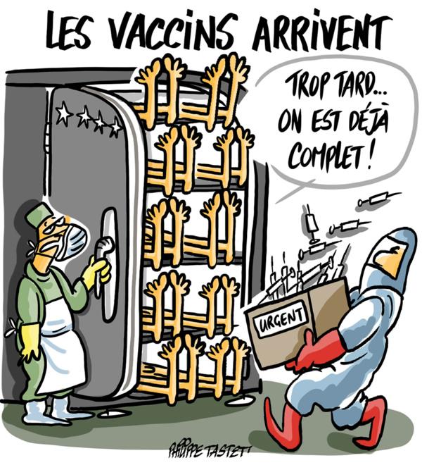 Le ministre de la santé : « aucune personne vaccinée parmi les cas critiques du coronavirus »