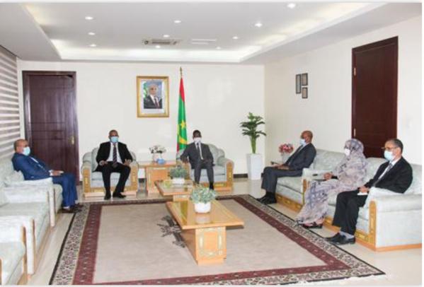 Le Premier Ministre reçoit le Secrétaire Exécutif du CILSS
