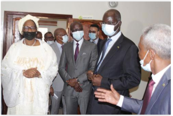 Le CNC Mauritanie reçoit la visite du Président du conseil des ministres du G5 Sahel