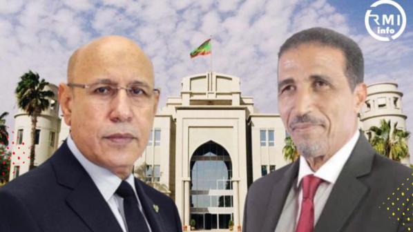 Ould Maouloud reçu par le président Ghazouani