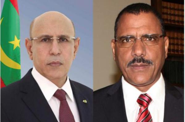 Le Président de la République félicite le président de la République du Niger