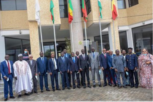 Le président du Conseil des ministres du G5-Sahel installe le nouveau secrétaire général du groupe