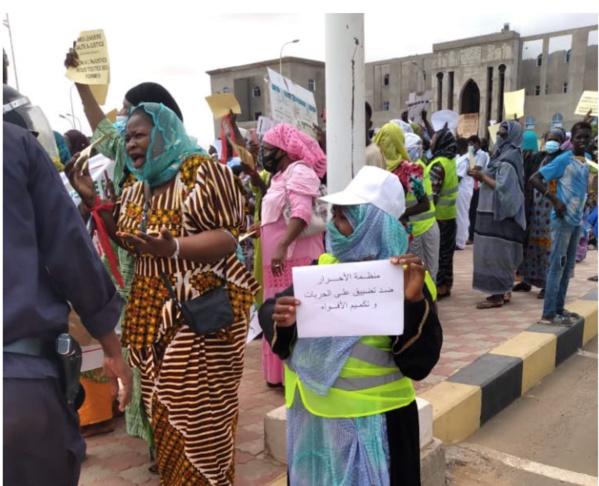 Mauritanie: manifestation de SPD pour réclamer la justice et l'égalité