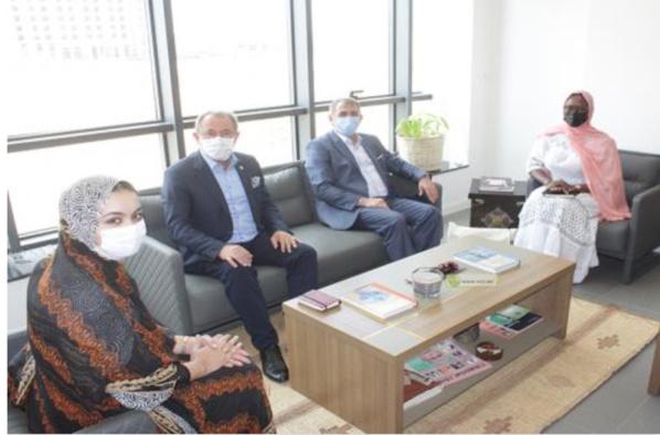 La directrice générale de l'APIM reçoit en audience des parlementaires turcs