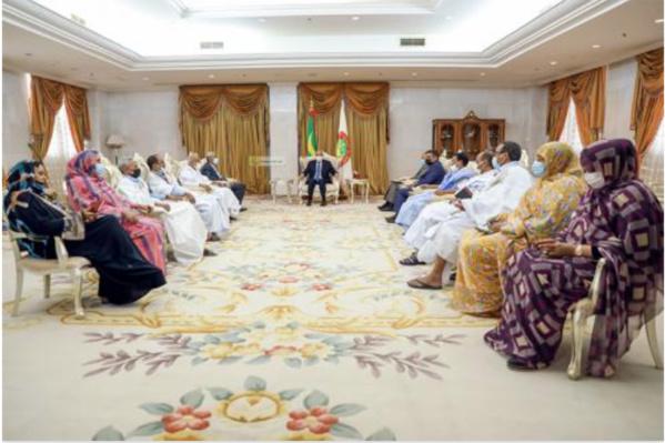 Le Président de la République reçoit le coordinateur des partis représentés au Parlement