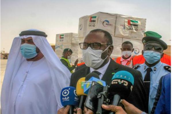 Covid 19 : La mauritanie réceptionne 100.000 doses de vaccin des Emirats Arabes Unis