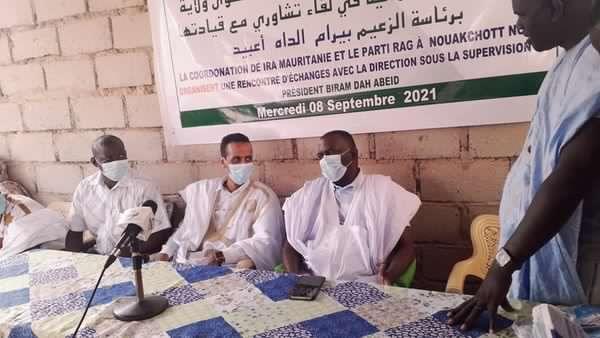 Birame Dah Abeid lance la concertation avec sa base
