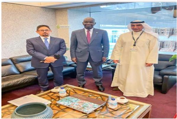 Le ministre des Affaires économiques rencontre le directeur général du FADES