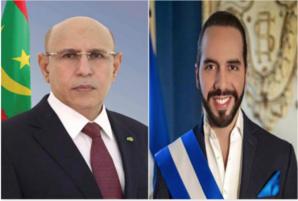 Le Président de la République félicite son homologue salvadorien