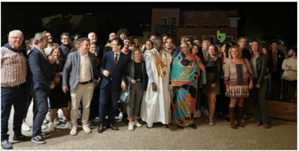 Intervention très suivie de Biram Dah Abeid à Ternie en Italie