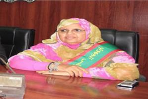 La présidente du Conseil régional de Nouakchott se rend en Russie