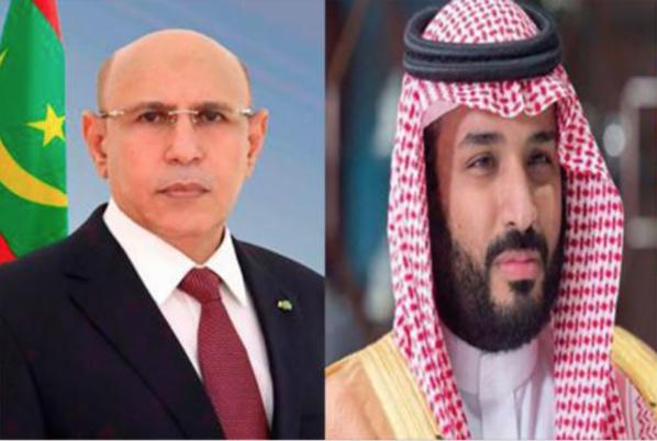 Le Président de la République félicite le prince héritier saoudien