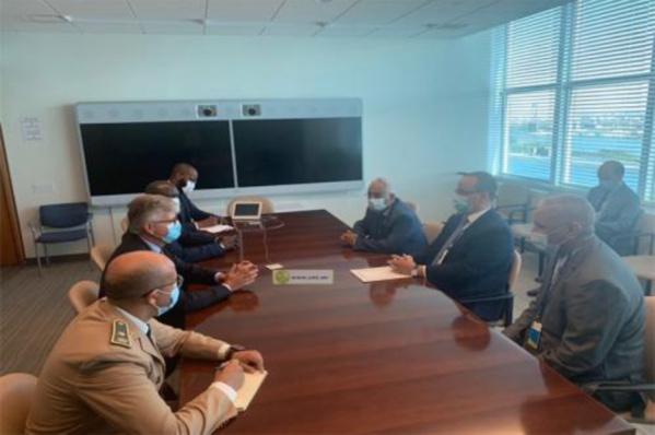 Le ministre des Affaires étrangères rencontre le secrétaire général adjoint de l'ONU