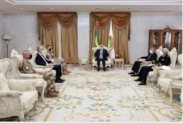 Le Président de la République reçoit le commandant de la Force Barkhane