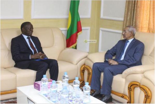 Le ministre de la Défense s'entretient avec le secrétaire exécutif du G5 Sahel