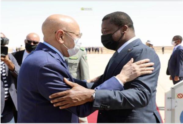 Le Président togolais quitte Nouakchott