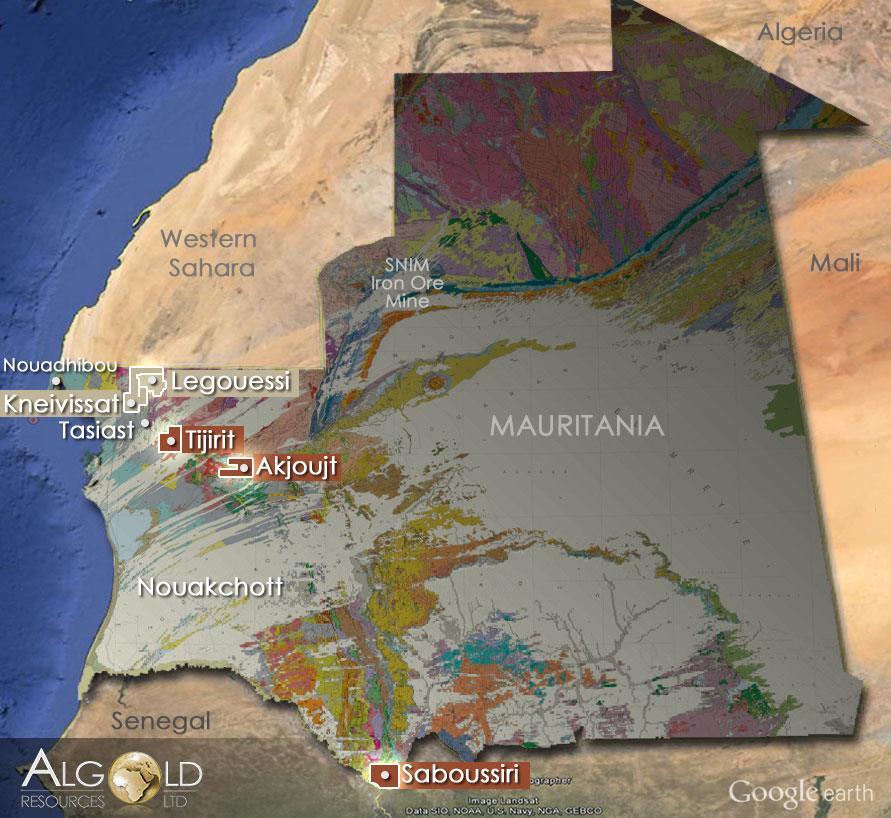 Mauritanie: signature de deux accords dans l'exploration pétrolière et l'or