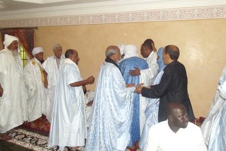 Le guide spirituel de la Tariqa qadiriya, Cheikh Baba Ahmed Boudemaa en Mauritanie