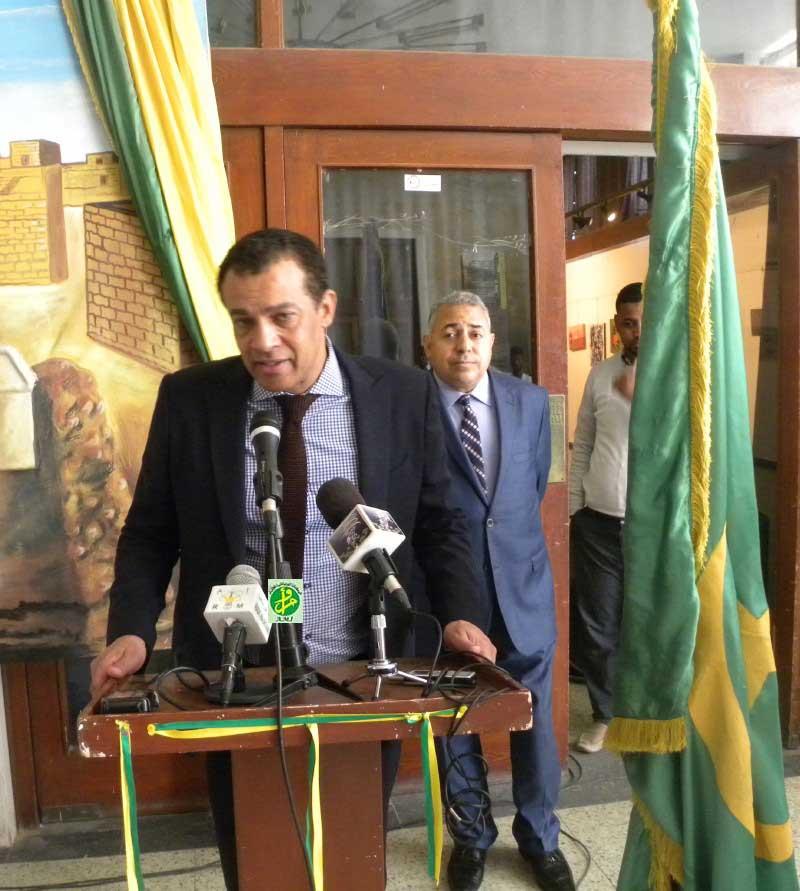 Exposition culturelle égypto-mauritanienne au musée national de Nouakchott