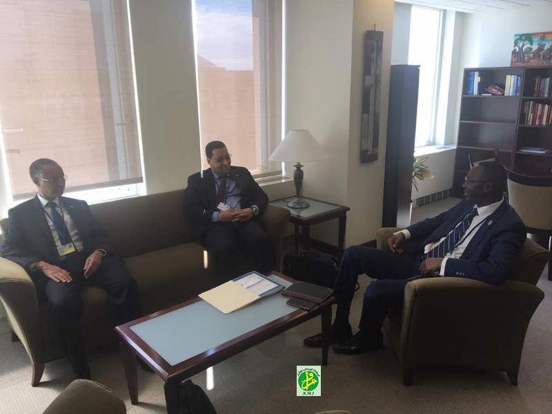 Une délégation mauritanienne de haut niveau participe aux réunions conjointes de la Banque mondiale et du FMI