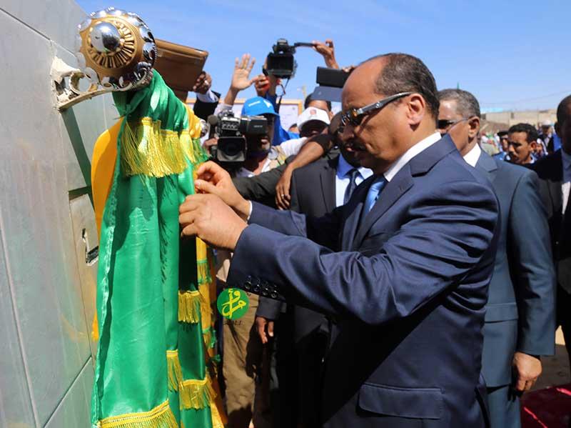Aziz en campagne à Nouadhibou
