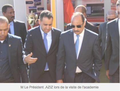 Le stade de l'Académie du Club FC Nouadhibou honoré