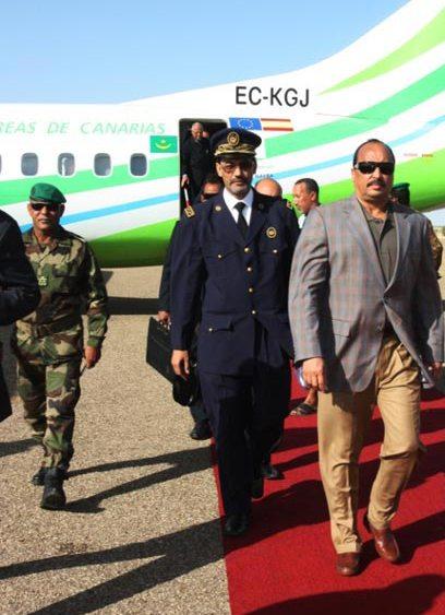 Le président Aziz regagne Nouadhibou, vendredi, après-midi