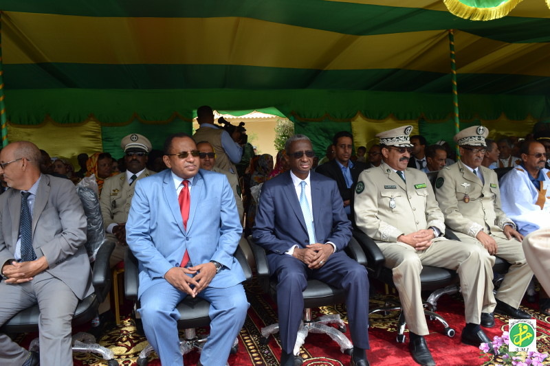 Le ministre de la Défense supervise la sortie de la 46e promotion d'élèves gendarmes