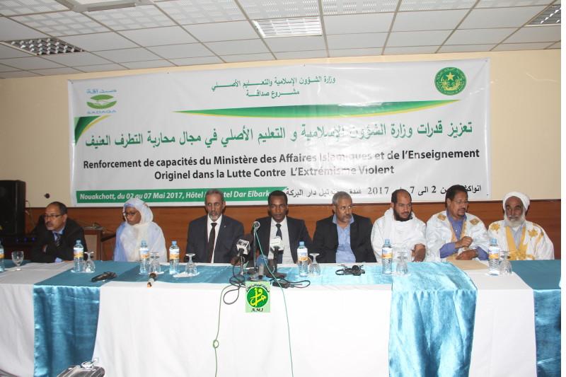 Atelier de renforcement des capacités du ministère des affaires islamiques dans la lutte contre l'extrémisme violent
