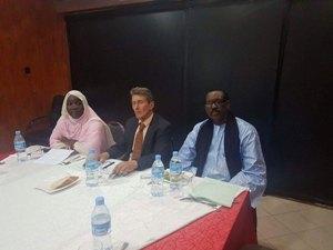 Visite de travail : le Secrétaire Général International de l'UPF hôte de la Mauritanie