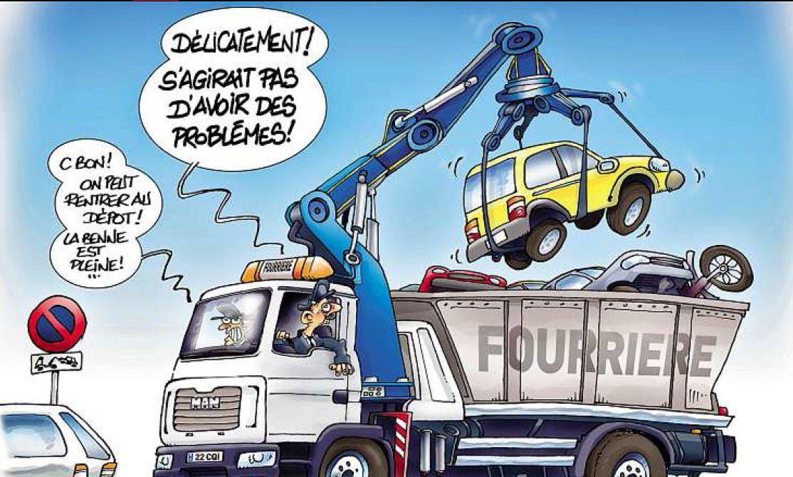 Le groupement de la sécurité routière décide le retrait de ses agents des fourrières