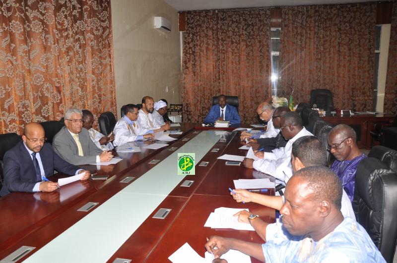 Conférence des Présidents à l'Assemblée nationale