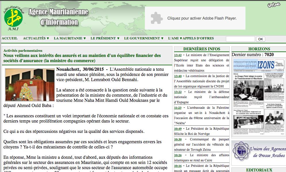 Le saviez-vous : en Mauritanie,  la diya officielle fixe la vie d'un humain à 1,2 million tout simplement…