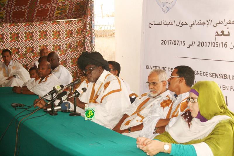 Le parti El Wiam lance sa campagne de soutien aux amendements constitutionnels