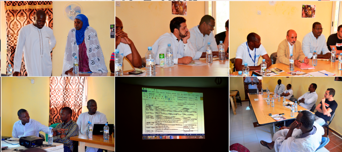 World Vision Projet ECHO  : atelier de capitalisation sur l'approche PB Mère à Kiffa