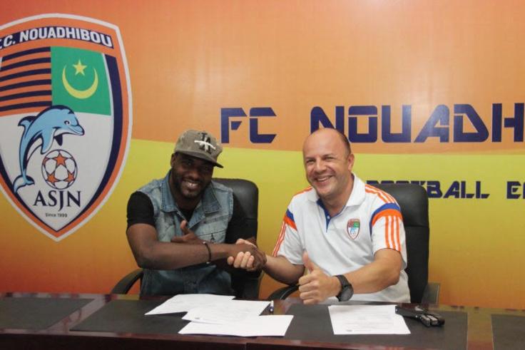 Sport : FC Nouadhibou a prolongé le contrat de Brahim Souleymane