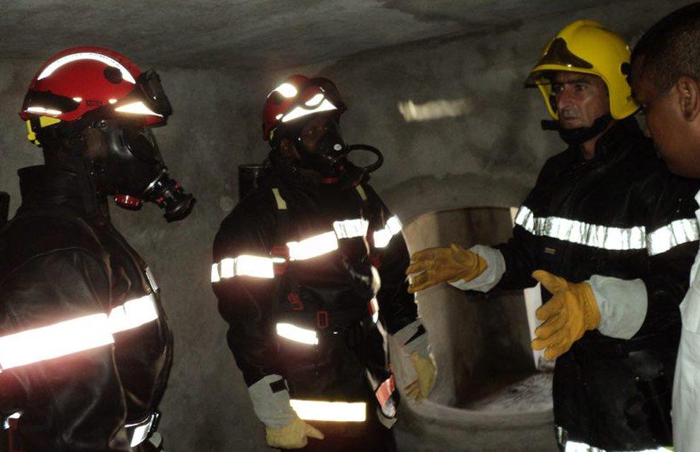 Nouadhibou : Organisation d'une session de formation au profit des sapeurs-pompiers