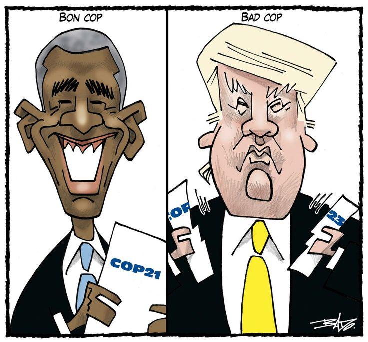 Climat: Donald Trump retire les Etats-Unis de l'accord de Paris