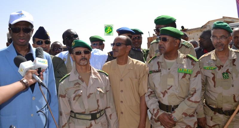 Lancement par la Défense Nationale d'une campagne d'assainissement dans la Moughataa d'Arafat