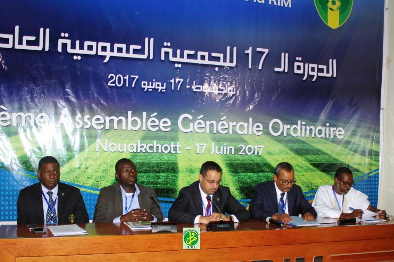 Tenue de l'assemblée générale ordinaire de la Fédération Mauritanienne de Football