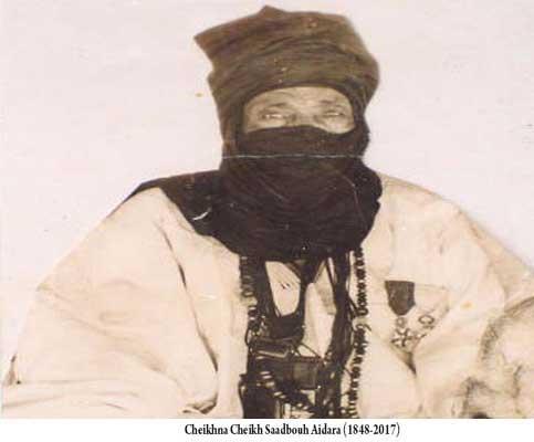 Cérémonie à Nimjatt à l'occasion du centenaire du décès de Cheikh Saad Bouh